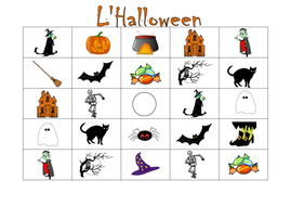 FRENCH - HALLOWEEN - GAMES