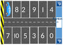0-20 Parking numbers