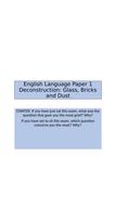 English-Language-Paper-1-Deconstruction-Glass-Bricks-and-Dust-MOBILE-PHONE-VERSION.pptx
