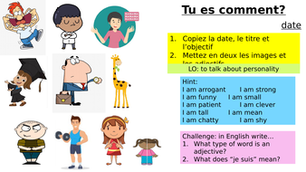 Year-7-French--Lesson-1-Week-1-M1-Personalities.pptx