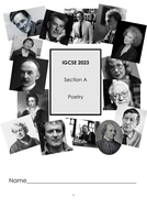 Poetry Anthology iGCSE 2023  Section A
