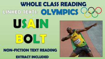 Usain Bolt - Whole Class Reading Session!