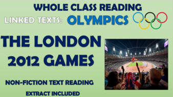 London 2012 Olympics - Whole Class Reading Session!