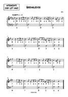 GREENSLEEVES--INTERMEDIATE-.pdf