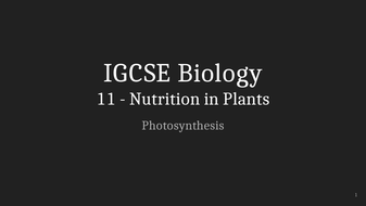 IGCSE-Biology-Lecture-11_-Nutrition-in-Plants.pptx