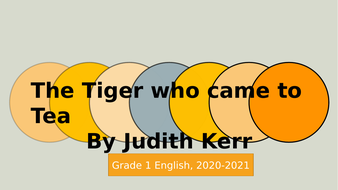 Sequencing-the-story---The-Tiger-who-came-to-Tea.pptx