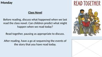 Year 1/2 KS1 Whole Class Reading Planning - Halloween Theme!