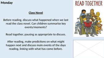 Year 3/4 LKS2 Whole Class Reading Planning - Halloween Theme