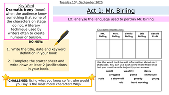L6--Mr-Birling-and-Dramatic-Irony.pptx