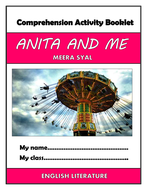 Anita and Me - Comprehension Activities Booklet!