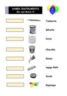 Samba Instruments - Mix and Match It!