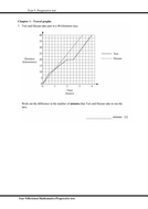STP Mathematics Year 9 Progressive test (including answer script)