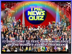 The News Quiz 16th - 23rd November 2020 Form Tutor Time Current Affairs