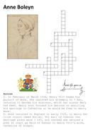 Anne Boleyn Crossword