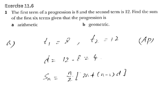 0606_Ex-11.6_Further-arithmetic-and-geometric-series_Solutions.pptx