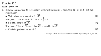0606_Ex-13.5_Vectors_Past-Year-Question-Papers_Solutions.pptx