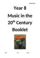 20th Century Composition Booklet