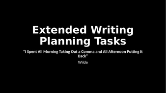 Extended-Writing-Planning-Tasks.pptx