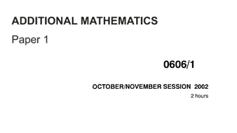 0606_November 2002 to 2011_ONLY Question Papers in PPT_NO SOLUTIONS