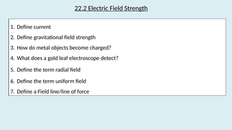 22.2-Electric-Field-Strength.pptx