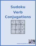 Etre French Verb Imparfait Sudoku