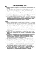 Van Helsing character profile - Dracula, A Level English Language and Literature