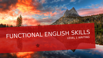 FUNCTIONAL-SKILLS-WRITING-PPT.pptx