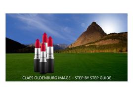 Claus Oldenburg/ Pop Art Step by Step