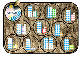 matching 11-20 numicon with numbers