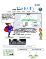 Physical Processes! The Sun, Earth and Shadows