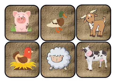 Farm animal hunt