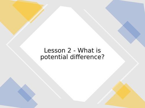 KS3 Science | 3.2.1-2 Electric circuits - Lesson 2 - What is potential difference? FULL LESSON