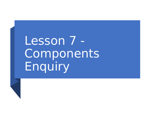 KS3 Science | 3.2.1-2 Electric circuits - Lesson 7 - Component enquiry FULL LESSON