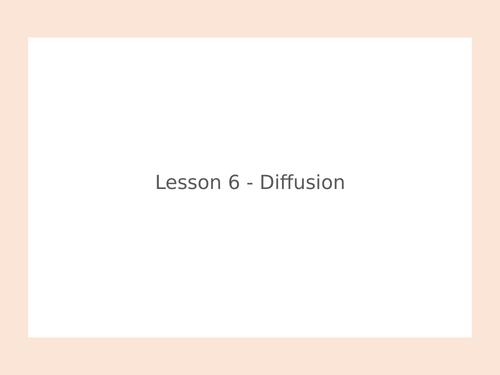 KS3 Science | 3.5.1 Particle model - Lesson 6 - Diffusion FULL LESSON