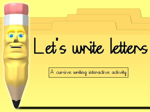 Writing Letters Powerpoint Tes