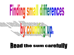 finding_differences_by_counting_up.ppt