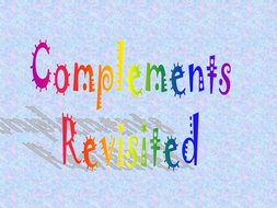 Complements_revisited.ppt