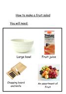 Recipes for fruit salad