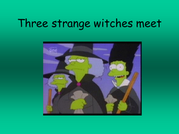 Shakespeare Macbeth Plot Using The Simpsons Images