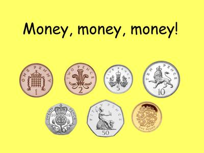 money coin recognition resources tes. Black Bedroom Furniture Sets. Home Design Ideas