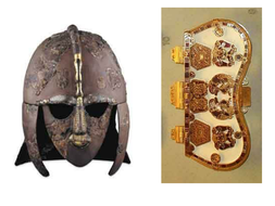 Photos of artefacts from Sutton Hoo