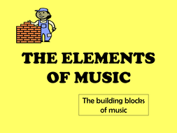 Slide show - The Elements of Music