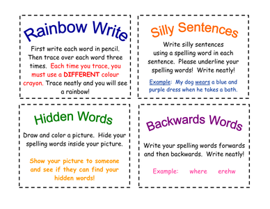 Fun Spelling Activities by EBD35 - UK Teaching Resources - TES