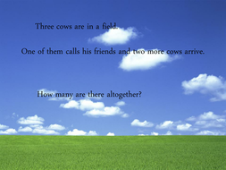 year 1 addition word problems