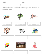 ee phoneme grapheme worksheets
