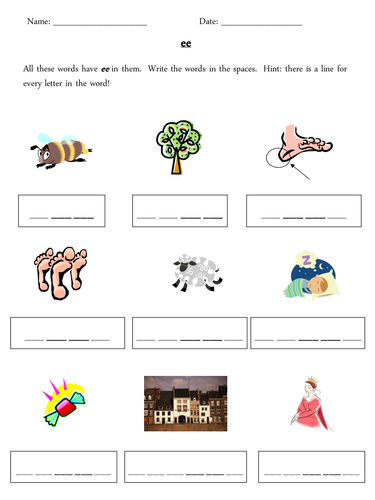 ee phoneme grapheme worksheets by misspope teaching resources tes. Black Bedroom Furniture Sets. Home Design Ideas
