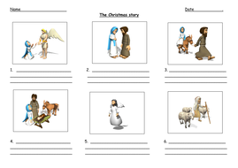 The Christmas Story worksheet by Nettle83 | Teaching Resources