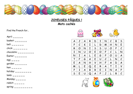 easter word search by sandra1972 teaching resources. Black Bedroom Furniture Sets. Home Design Ideas