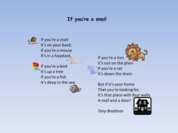 Home poems powerpoint