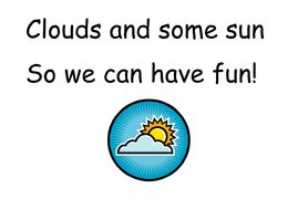Weather Rhymes